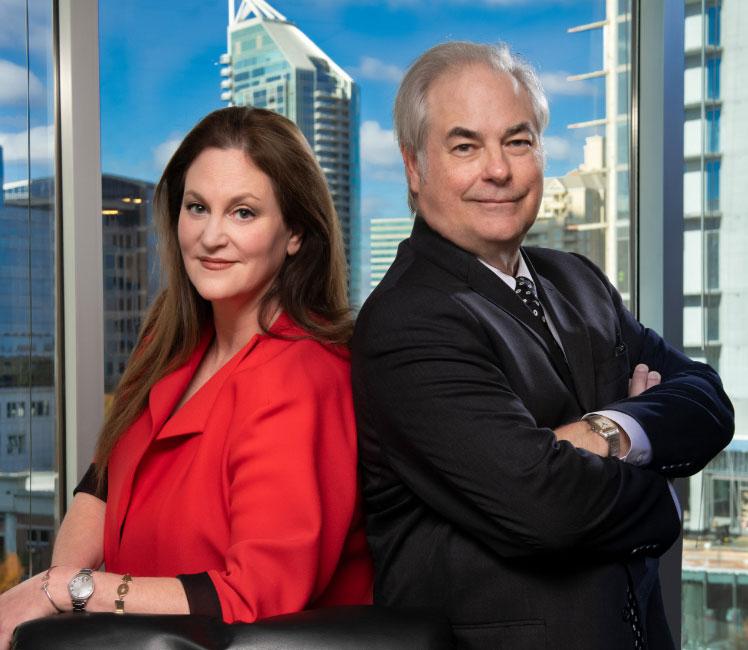 Mia Frieder & Ronald Hilley