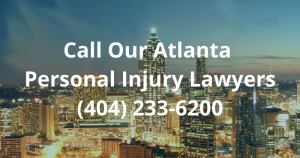 Call Our Atlanta Personal Injury Lawyers